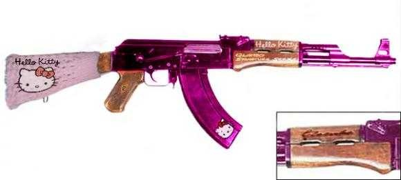 Hello Kitty  Ak-47