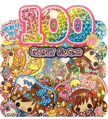 Stickerzakje Kamio Girly Sugar