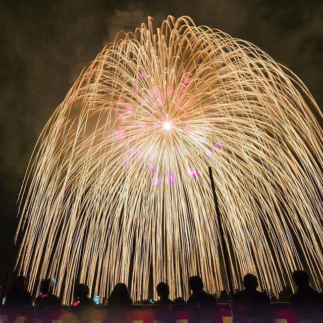 暫くお休みの予定でしたが、Instagramは私の備忘録なのでポスト失礼します📮 . . 週末に新潟三大花火のひとつの片貝まつりへ 地元の方の招待で桟敷席の前列で観賞してきました^ ^ . . 世界一の四尺玉で有名な花火大会ですが、片貝まつりは浅原神社の秋の例大祭であり、花火は神社への奉納を意味しています。 . . 都会で観る花火とは全く違い、個人がそれぞれの想いを花火へ託して打ち上げるので打ち上げ前のメッセージに感動😂 打ち上げた後にあちらこちらから聞こえる万歳や拍手に感動😂 出産、成人、結婚、亡き人への想い… 花火ひとつひとつにドラマがありました。 . . 神社の裏の丘で打ち上げる花火は山に響いて音や振動がものすごく、ここの花火は撮影より観賞を楽しまないと勿体無い!! すっかり片貝まつりのファンになってしまいました。 来年もまた行きたいなぁ〜 . . 写真は株式会社かんぽ生命奉納 正三尺玉 広角レンズでもフレームアウトでした💦  四尺玉を見たい方は #片貝花火  から上手な方々が山の上から撮られていると思いますのでそちらをご覧くださいませ^ ^…