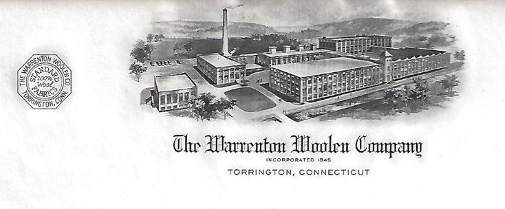 Warranton Woolen Company, Torrington CT