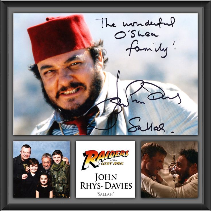 John Rhys-Davies (Sallah - Raiders of the Lost Ark) at Cardiff ...