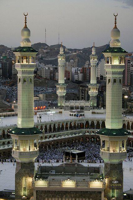 Al-Haram Mosque , Mecca   المسجد الحرام