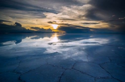 The Uyuni Salt Flats In Bolivia Are Truly A Wonder To Behold