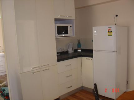 It's conveniently located only 15 minutes from Nathan Campus Griffith Uni, Sunnybank Shops and the Train Station. The bus is only a short walk of 3 minutes down the road.  Fully furnished in a clean and comfortable environment. Link: http://www.kiddhouseaccommodation.com.au/unit-rb1/