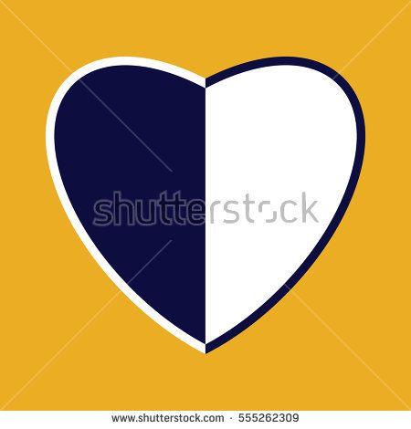 Vector heart - Symbol of harmony and love