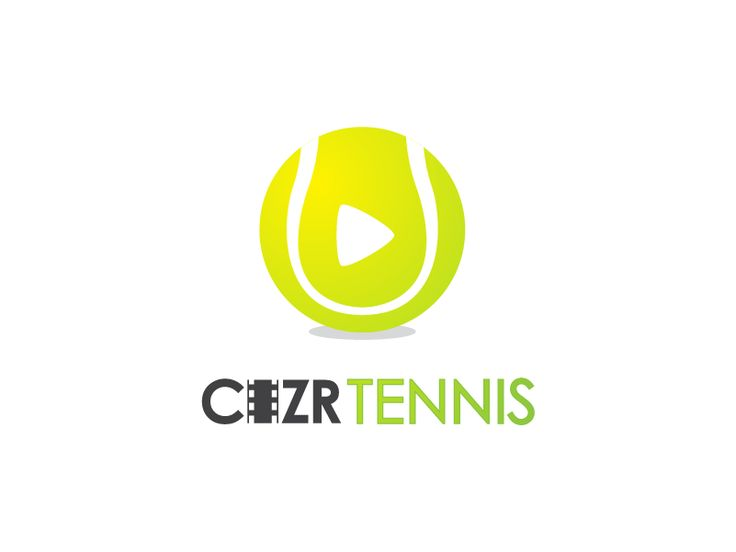 Create a logo for a tennis video analysis app called Cizr by mongci