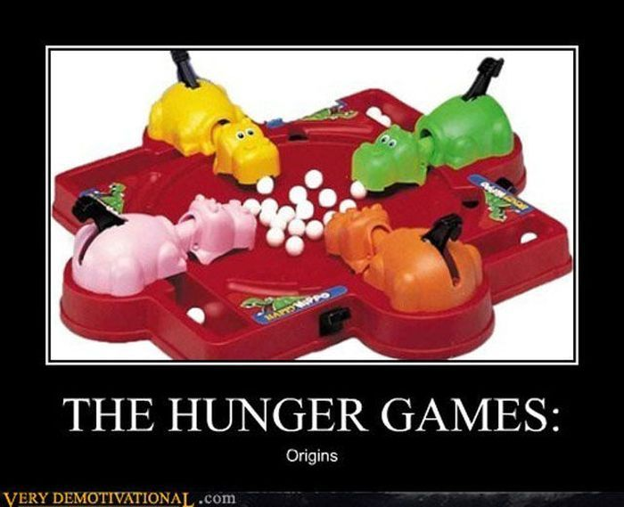 The hunger games: origins: The Hunger Games, Originals Version, Originals Hunger, Real Hunger, Hungry Hungry Hippo, Funnies, Kids, Hunger Games Humor Facebook, The Originals