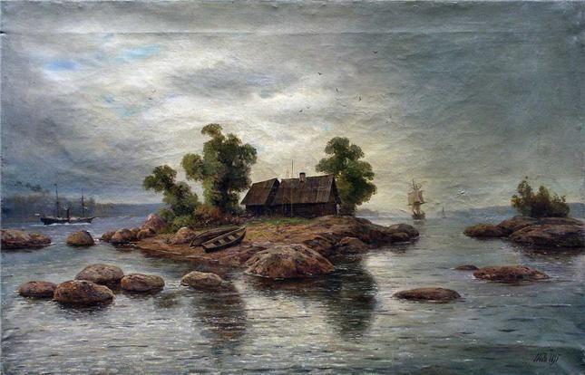 Лагорио Л.Ф. Хутор на острове