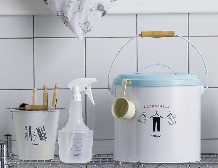 Contenedores para tu lavandería. Otoño - Invierno 2016