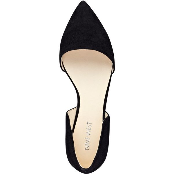 Nine West Deputy d'Orsay Flats found on Polyvore