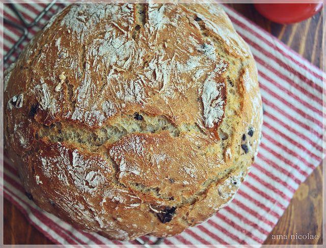 paine cu masline - fara framantare