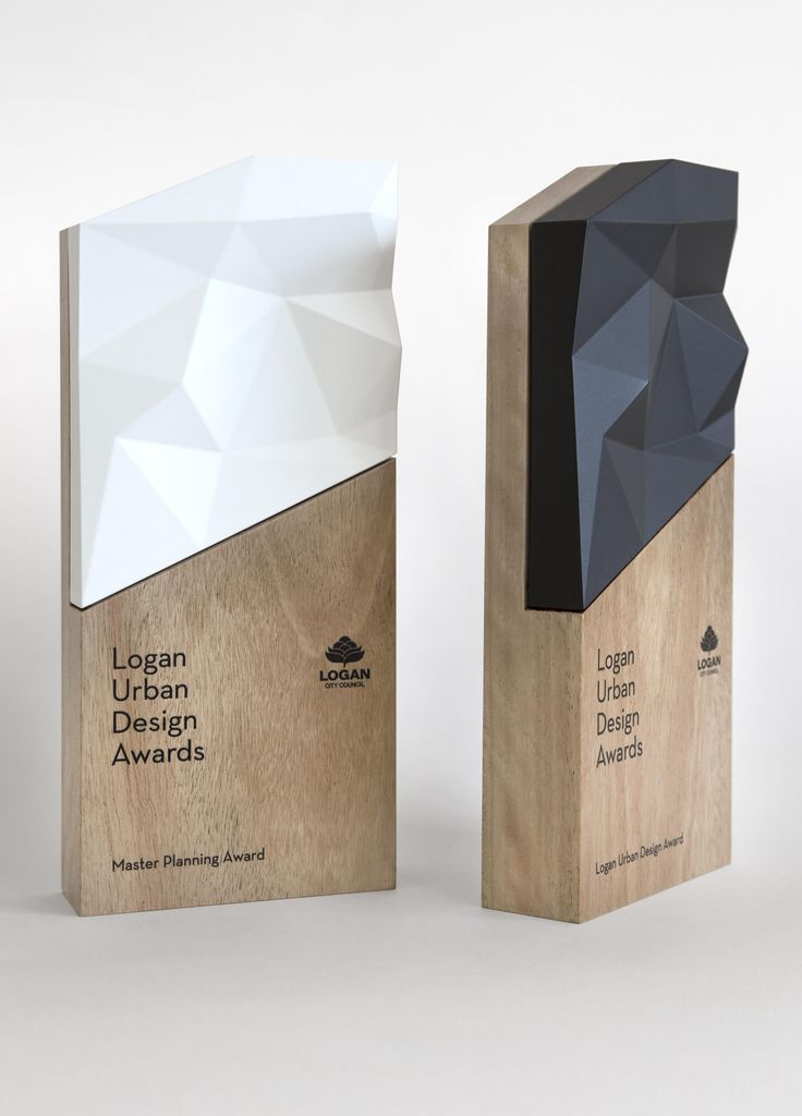 Logan Urban Design Awards trophy by Tony Gooley Design