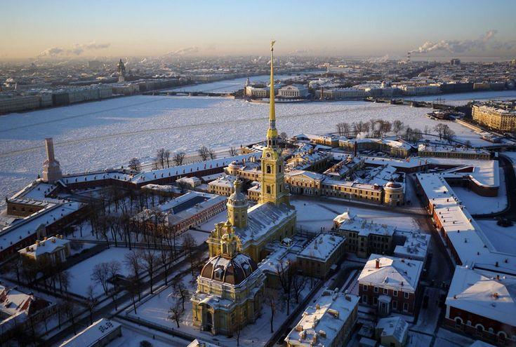Санкт Петербург   вид сверху