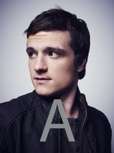 Josh Hutcherson outtake from THR Photoshoot