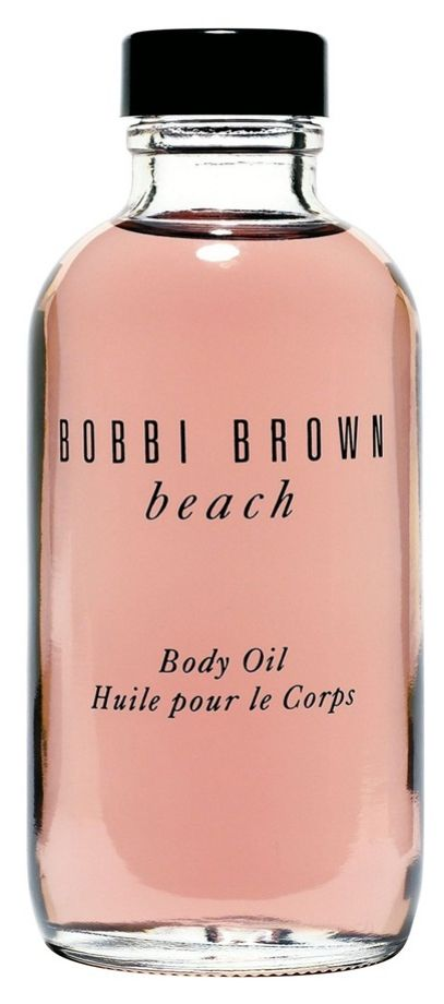 A moisturizing body oil that gives a sexy, just-got-back-from-vacation sheen as it scents | Bobbi Brown.