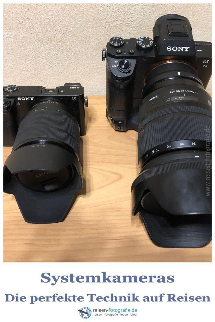 """Systemkameras – Perfekte Technik auf Reisen  Systemkameras oder doch lieber die Digitale Spiegelreflex Kameras? Diese Frage zum """"richtigen"""" Kamerasystem flammt im Moment immer öfters auf. Besonders in Fotogruppen in den Social Medias und in verschiedenen Communities wird diese Diskussion oft sehr emotional geführt.  #fotografie #fotoausrüstung #fototipps #tipps #systemkamera #spiegelreflex #dslm #dslr"""