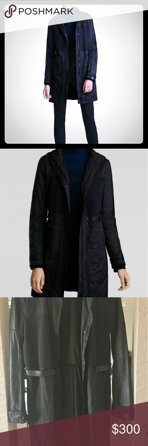 Elie Tahari Bianca Coat Women's Rain Coat Elie Tahari Jackets & Coats Trench Coats