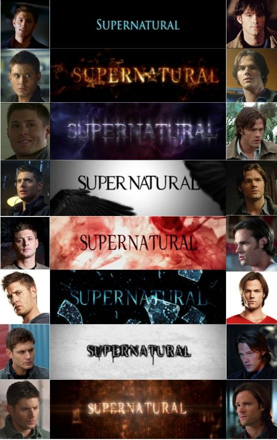 Sam and Dean... our men for all seasons!