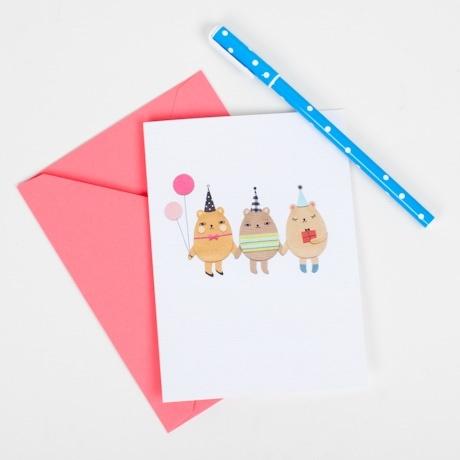 Happy Friends Card