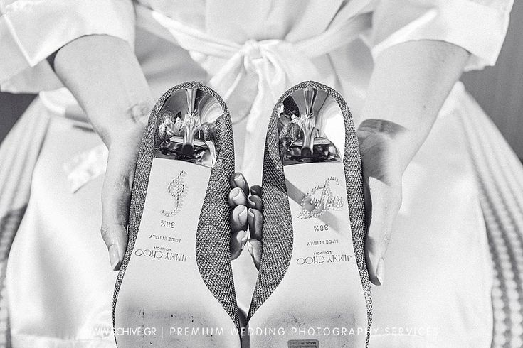 Wedding shoes always have a story to tell. And our wedding photography is there to narrate it.