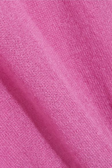 M.i.h Jeans - Inka Mohair-blend Sweater - Pink - x small