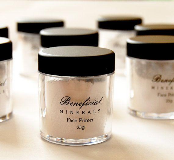 FACE PRIMER Powder Foundation Primer by BeneficialMineralsCo