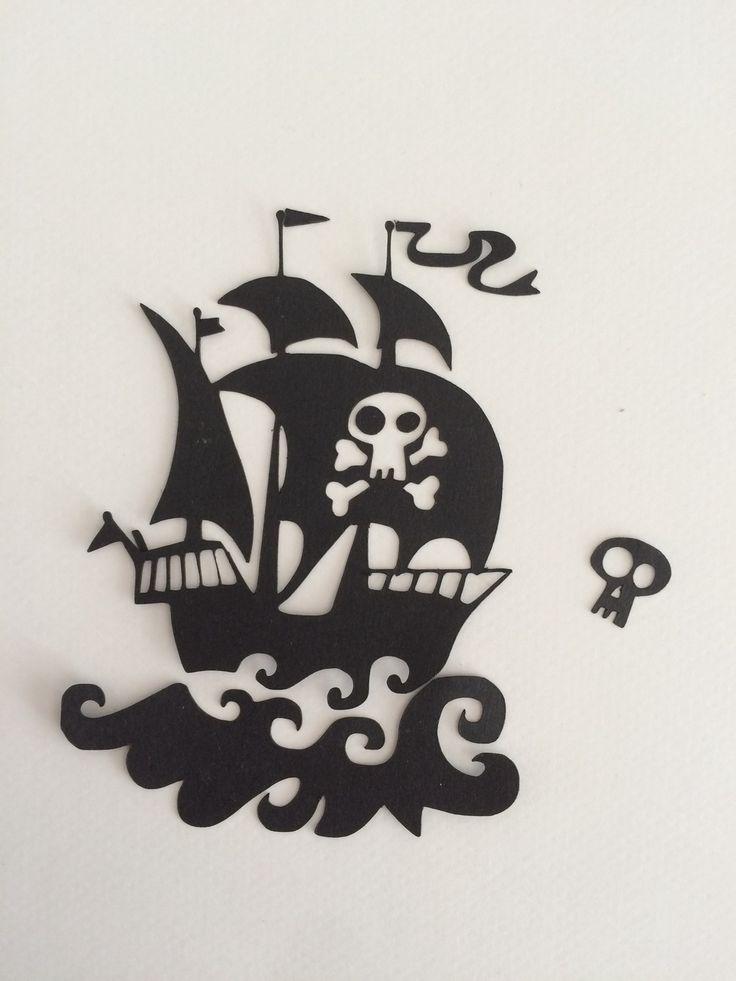 Découpe Bateau pirate : Embellissements par didine45