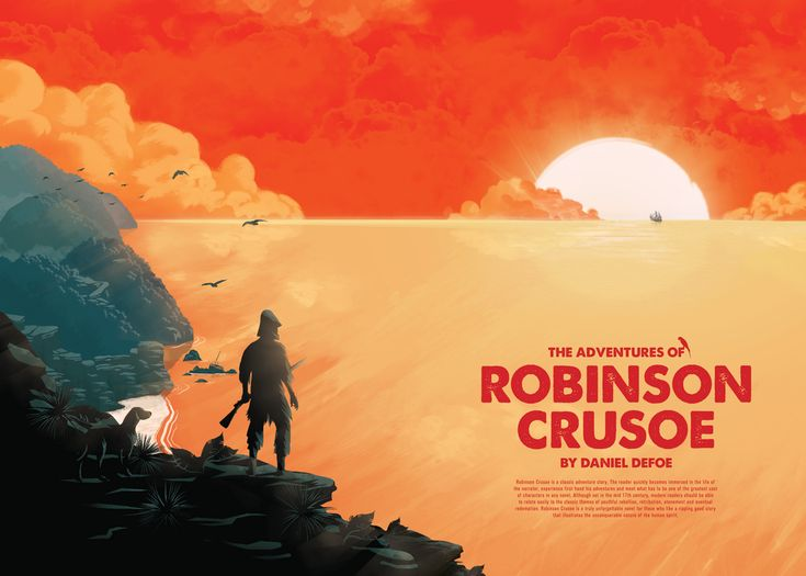 Describe the presence of colonialism in Daniel Defoe's Robinson Crusoe.