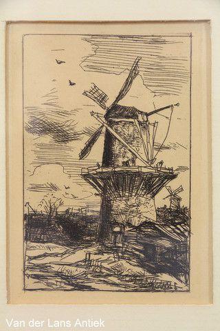 Ets Jacob Maris 26365 bij Van der Lans Antiek op www.lansantiek.com.