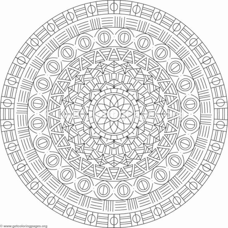 advanced mandala coloring pages - Page 35 ...