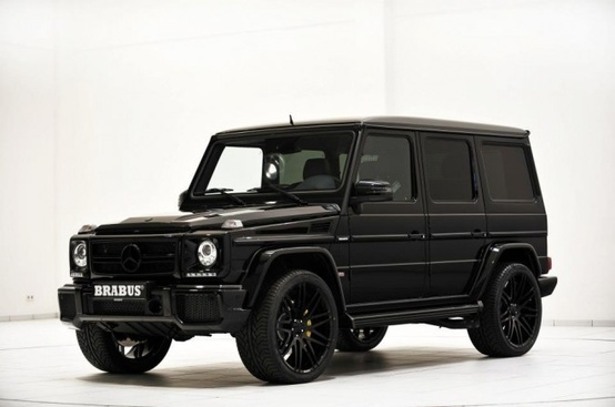 Blacked out mercedes g wagon mafia style mercedes g for Mercedes benz truck g class