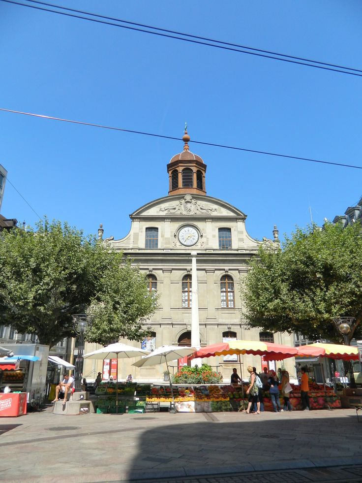cenevre pazari ve cathedral