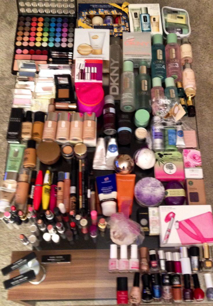 Make up #Clinique #Mac #Estee Lauder #Max Factor #Maybelline