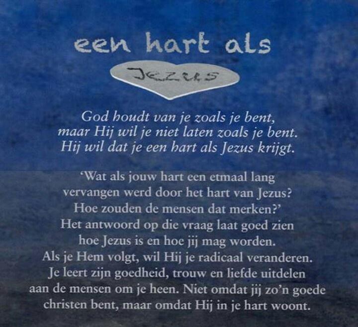 Citaten Een Hart Van Steen : Een hart als jezus gedichten en spreuken pinterest