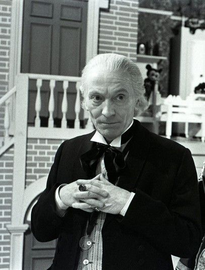 Doctor Who  William Hartnell the first and original Doctor. I can remember watching this at my Grandparents as we hadn't a TV set.