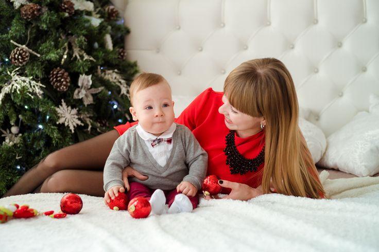 Новогодняя фотосессия в студии ростов на дону