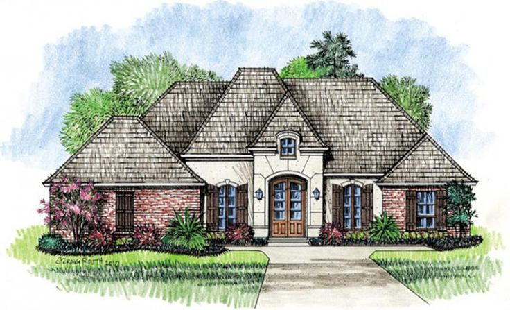 13229392628166760 on French Style House Floor Plan
