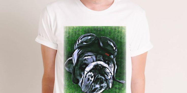 #dog #animali #disegno #illustrazione #verde #divertente