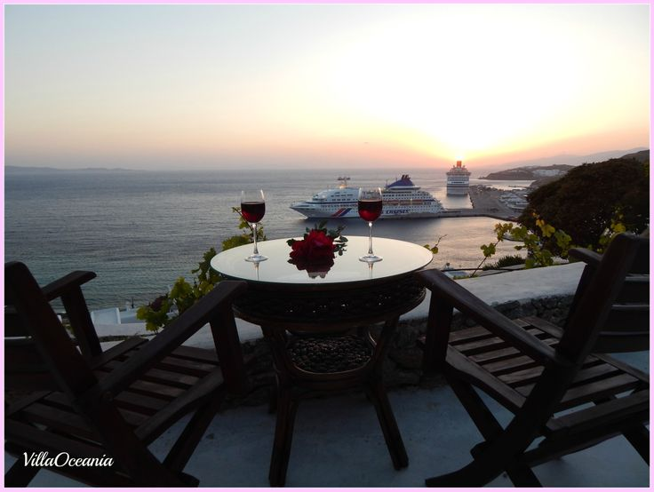 #MagnificentSunset , #lovely #mysterious silence....at amazing Mykonos island...