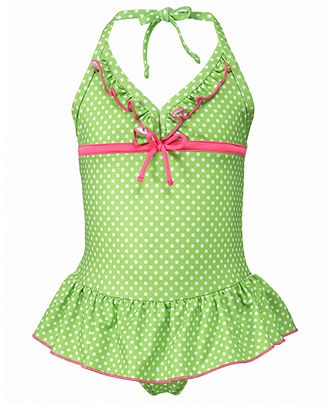 Penelope Mack Kids Swimwear, Little Girls or Toddler Girls One-Piece Ruffled Swimsuit - Toddler Girl Swimsuits - Macy's