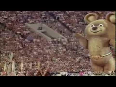 До свидания, наш ласковый миша! Закрытие XXII Летних Олимпийских игр в Москве 1980 - YouTube