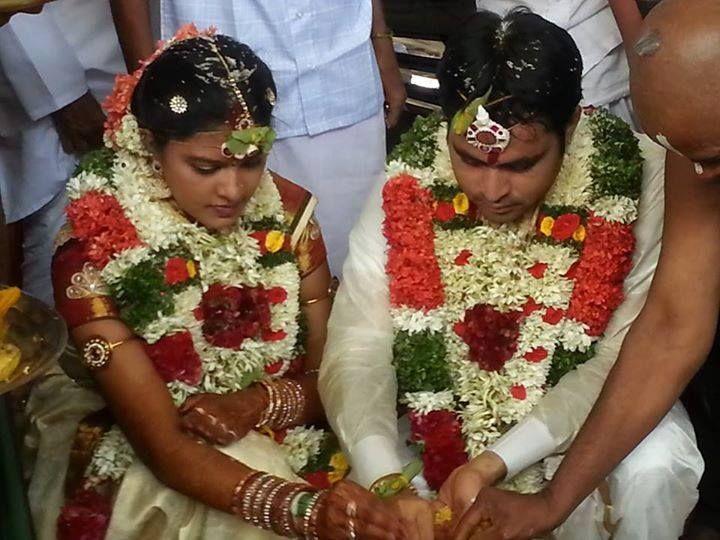 Rachitha Rachu Marriage Stills