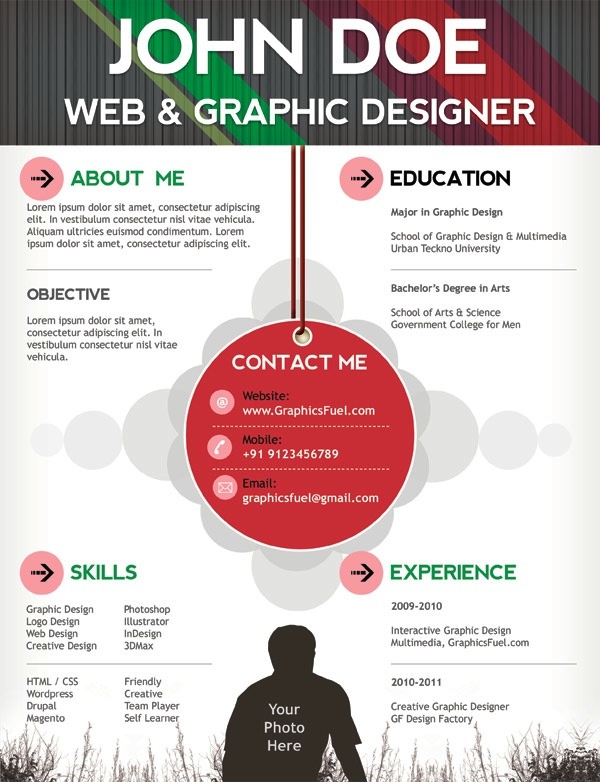 Best Curriculum Vitae Images On   Curriculum Creative