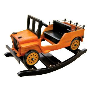 You gotta see these! AMAZING Wooden Baby Rockers (cars, jeeps, trucks, boats, airplanes!) $174.99