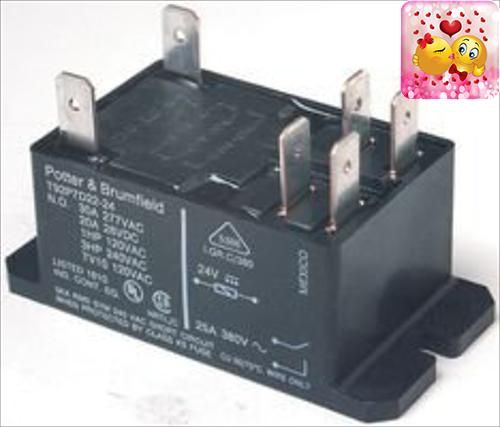 #50%off TE #CONNECTIVITY / #POTTER & BRUMFIELD T92P7A22-240 POWER RELAY, DPST-NO, 240VAC, 30A, FLANGE