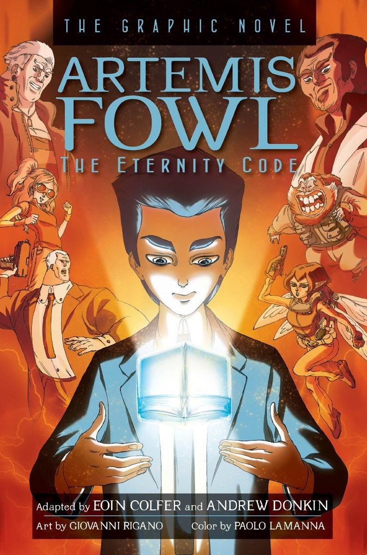 Artemis Fowl The Eternity Code Graphic Novel: