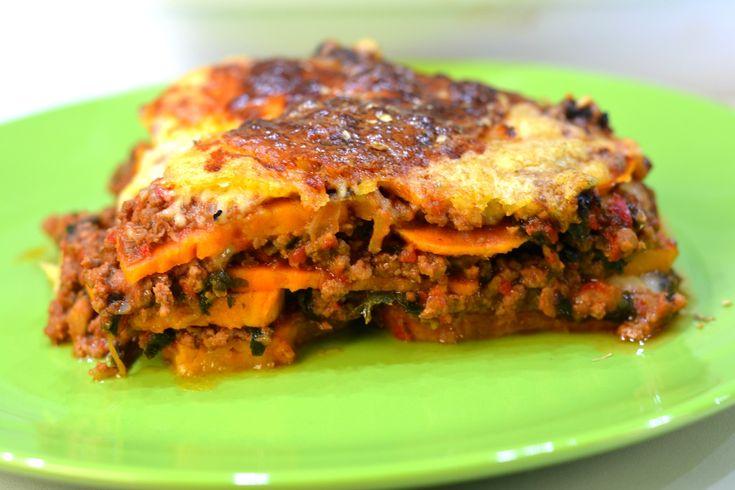 Zoete aardappel lasagne – makkelijk en gezond!