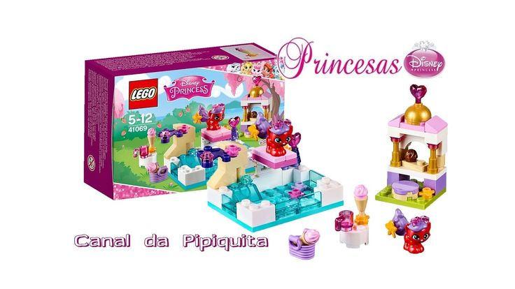 Lego 41069®Princesa Disney   Treasure dia na piscina
