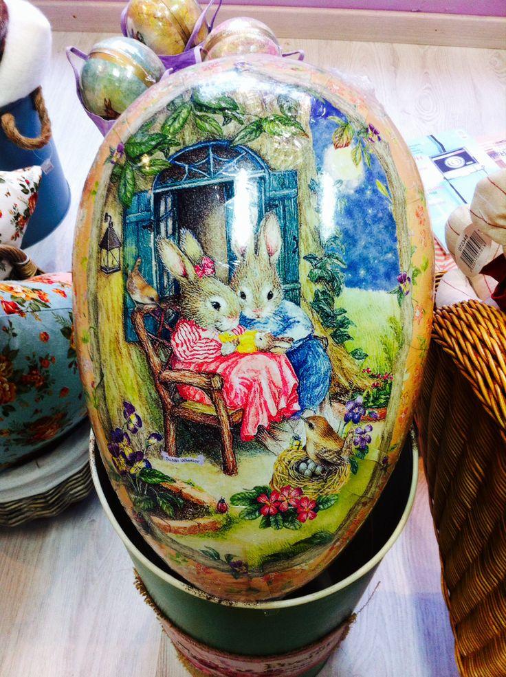 Huevo de Pascua Beatrix Potter