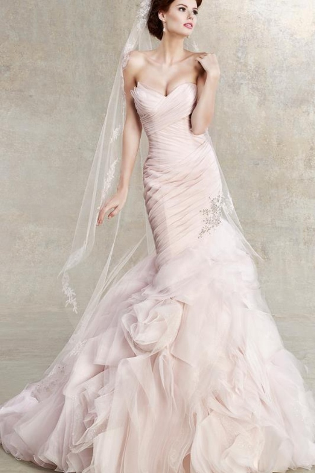 Pink Wedding Dress Dream Meaning : Blush wedding dresses weddings pink blushes